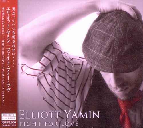 Elliott Yamin Fight For Love CD album (CDLP) Japanese ED4CDFI505316