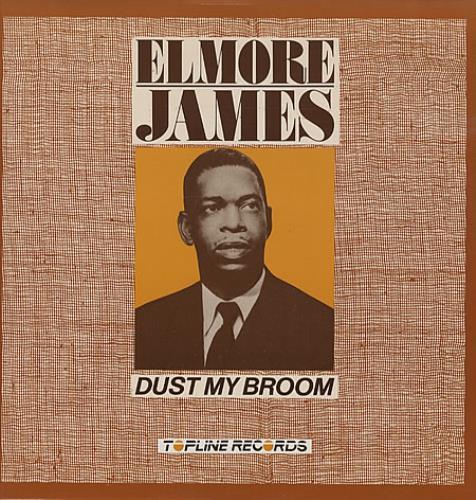 Elmore James Dust My Broom vinyl LP album (LP record) UK EMJLPDU337632