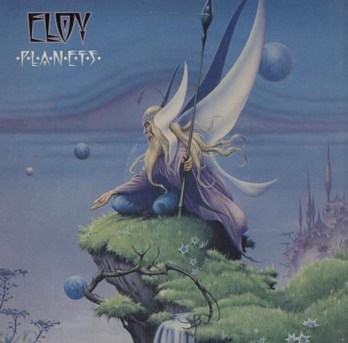 Eloy Planets - 1st + Blue Inner vinyl LP album (LP record) UK LOYLPPL607663