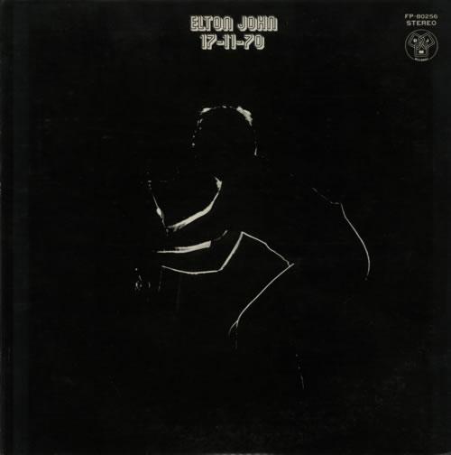 Elton John 17-11-70 - Red vinyl vinyl LP album (LP record) Japanese JOHLPRE597483