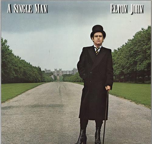 Elton John A Single Man vinyl LP album (LP record) Dutch JOHLPAS554059
