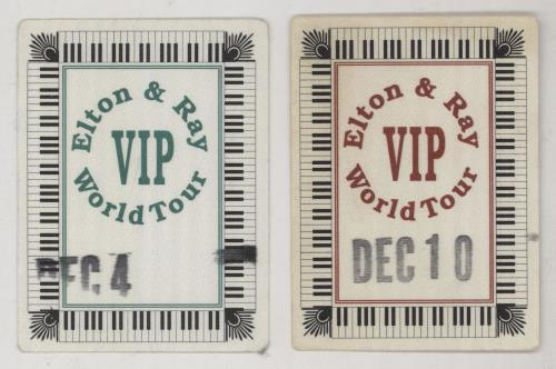 Elton John An Evening With... + VIP Passes tour programme UK JOHTRAN756761