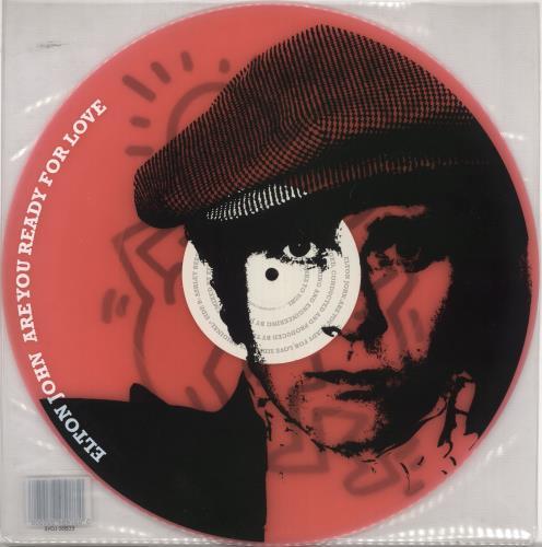 "Elton John Are You Ready For Love - Pink 12"" vinyl single (12 inch record / Maxi-single) UK JOH12AR251744"