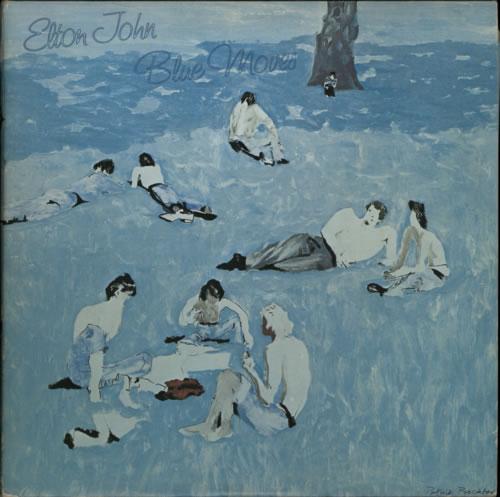 Elton John Blue Moves 2-LP vinyl record set (Double Album) UK JOH2LBL236681