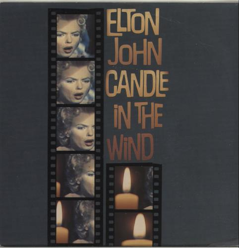Elton John Candle In The Wind Dutch 7