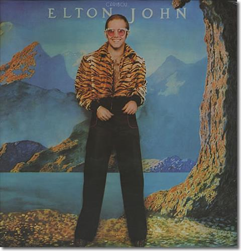 Elton John Caribou Purple Vinyl Uk Vinyl Lp Album Lp