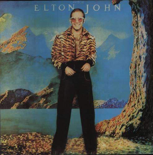 Elton John Caribou Uk Vinyl Lp Album Lp Record 497132