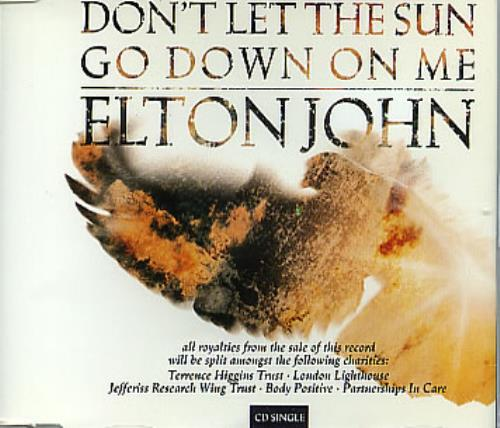 """Elton John Don't Let The Sun Go Down CD single (CD5 / 5"""") UK JOHC5DO47923"""