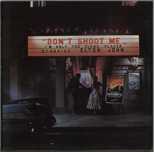Elton John Don't Shoot Me - 1st - Red - VG vinyl LP album (LP record) UK JOHLPDO642937