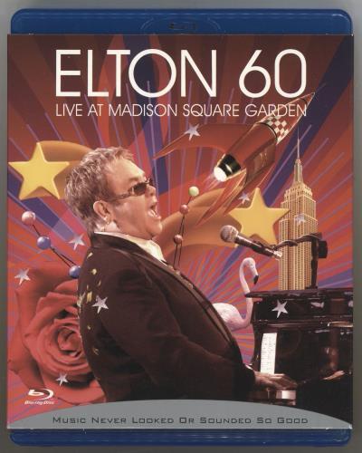 Elton John Elton 60 - Live At Madison Square Garden Blu Ray DVD UK JOHBREL451248