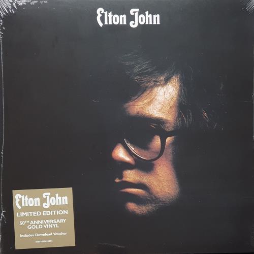 Elton John Elton John - Gold Vinyl - Sealed vinyl LP album (LP record) UK JOHLPEL755539