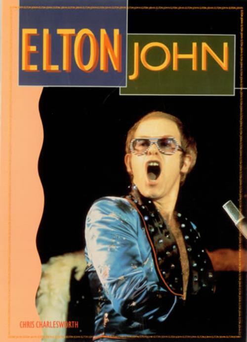 Elton John Elton John book UK JOHBKEL417317