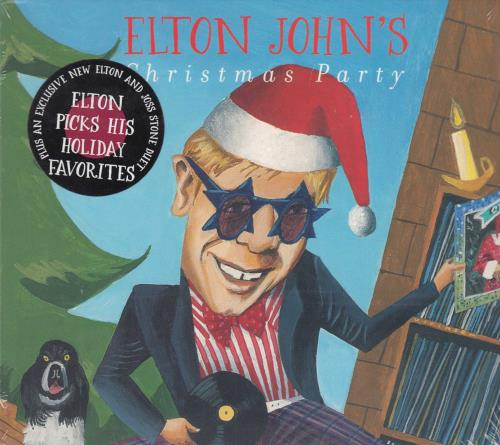 Elton John Elton John's Christmas Party - Sealed CD album (CDLP) US JOHCDEL343322