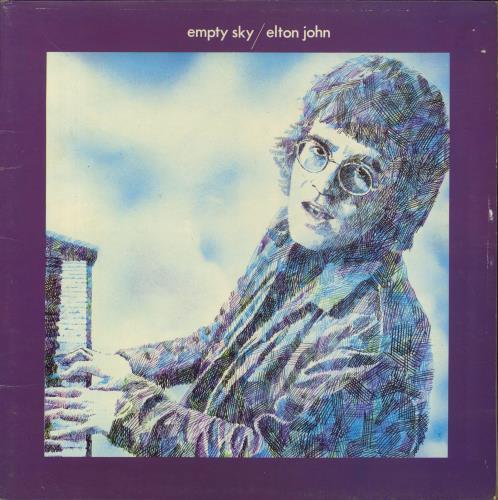 Elton John Empty Sky vinyl LP album (LP record) UK JOHLPEM773954