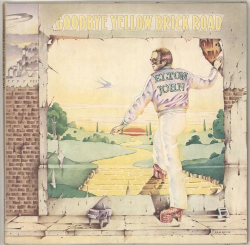 Elton John Goodbye Yellow Brick Road - 1st 2-LP vinyl record set (Double Album) UK JOH2LGO149861