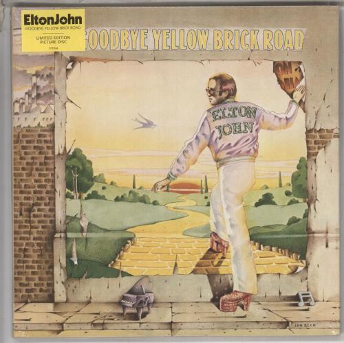 Elton John Goodbye Yellow Brick Road - Sealed picture disc LP (vinyl picture disc album) UK JOHPDGO736207