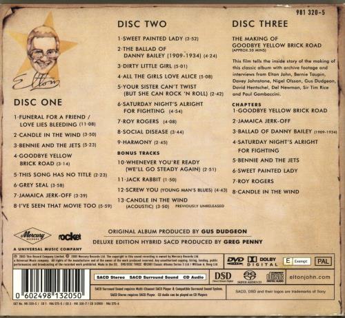 Elton John Goodbye Yellow Brick Road UK super audio CD SACD