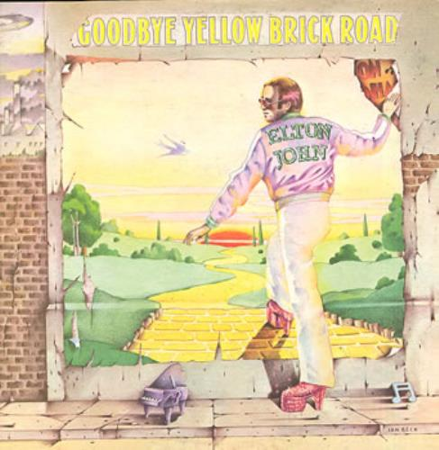 Elton John Goodbye Yellow Brick Road 2-LP vinyl record set (Double Album) Australian JOH2LGO276193