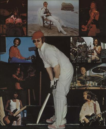 Elton John Greatest Hits Volume II + Booklet vinyl LP album (LP record) UK JOHLPGR298749