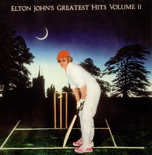 Elton John Greatest Hits Volume II vinyl LP album (LP record) Portugese JOHLPGR542758