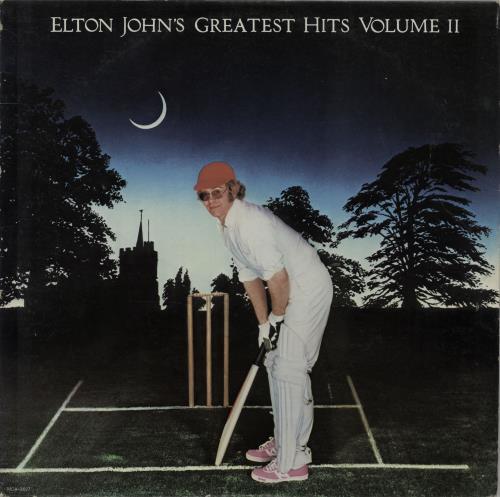 Elton John Greatest Hits Volume II vinyl LP album (LP record) US JOHLPGR649891