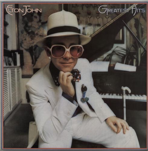 Elton John Greatest Hits vinyl LP album (LP record) UK JOHLPGR647291