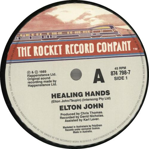 Elton John Healing Hands Australian 7