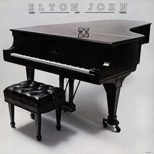 Elton John Here And There vinyl LP album (LP record) US JOHLPHE569279