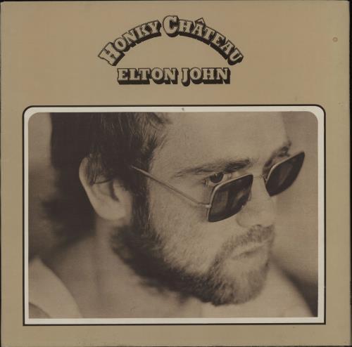 Elton John Honky Chateau - 1st - Red Vinyl vinyl LP album (LP record) UK JOHLPHO713230