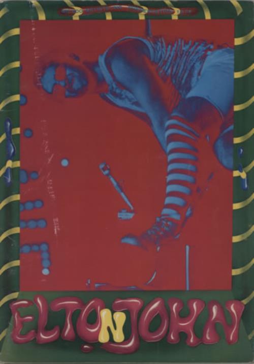 Elton John Japan Tour '74 tour programme Japanese JOHTRJA592210