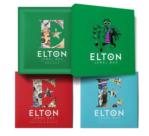 Elton John Jewel Box + Exclusive A2 Poster Print Vinyl Box Set UK JOHVXJE756993