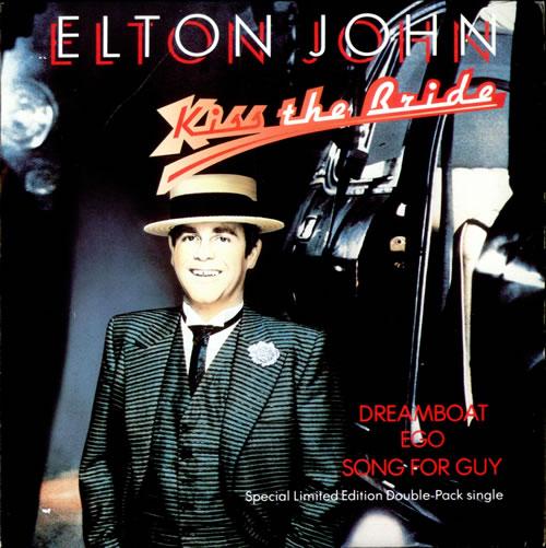 """Elton John Kiss The Bride - Double Pack 7"""" vinyl single (7 inch record) UK JOH07KI51471"""