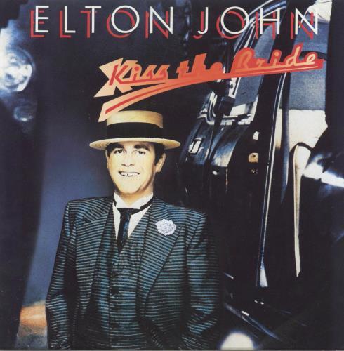 """Elton John Kiss The Bride 7"""" vinyl single (7 inch record) UK JOH07KI301213"""