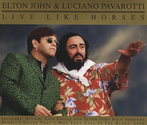 Elton John Step Into Christmas.Elton John Live Like Horses Uk 2 Cd Single Set Double Cd Single