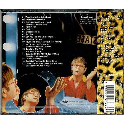 Elton John One Night Only The Greatest Hits Japanese Cd
