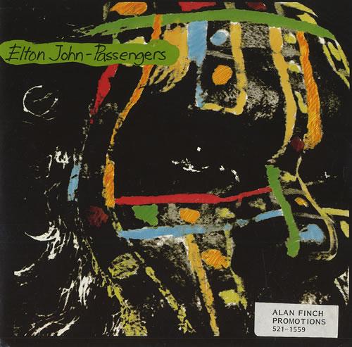 """Elton John Passengers 7"""" vinyl single (7 inch record) UK JOH07PA459998"""