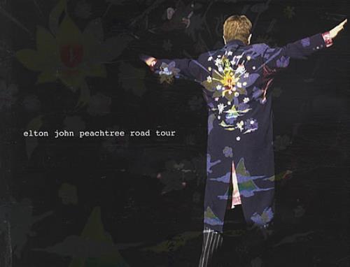 Elton John Peachtree Road Tour tour programme UK JOHTRPE328405