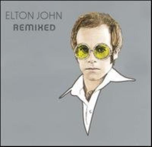 """Elton John Remixed CD single (CD5 / 5"""") US JOHC5RE275397"""