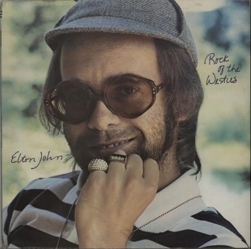Elton John Rock Of The Westies - Red - EX vinyl LP album (LP record) UK JOHLPRO653792