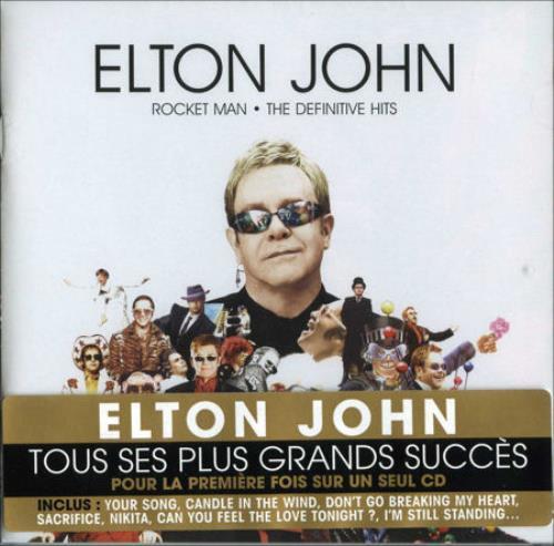 Elton John Rocket Man The Definitive Hits French Cd