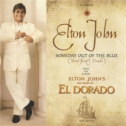 "Elton John Someday Out Of The Blue [Theme From El Dorado] CD single (CD5 / 5"") US JOHC5SO456530"