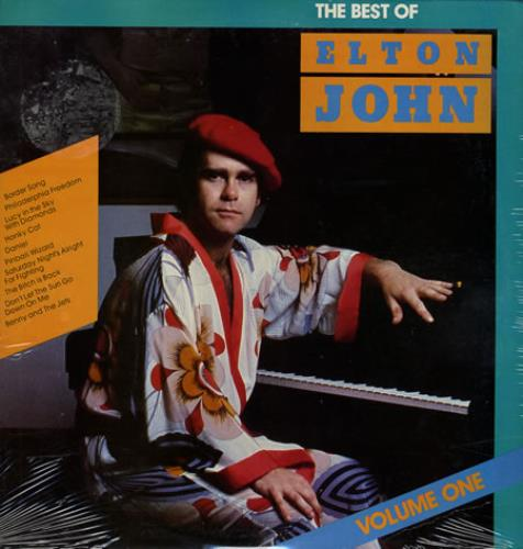 Elton John The Best Of Elton John Volume One Sealed Us