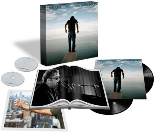 Elton John The Diving Board - Super Deluxe Edition box set UK JOHBXTH604947