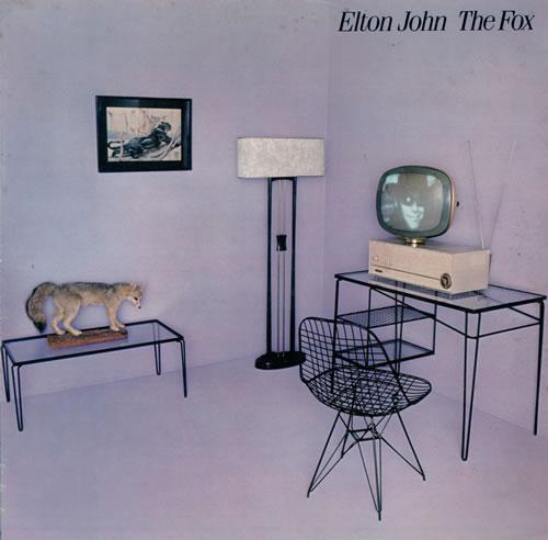 Elton John The Fox vinyl LP album (LP record) UK JOHLPTH497177