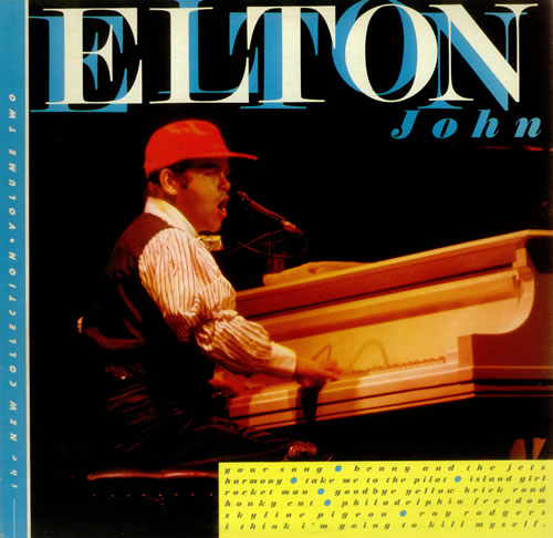 Elton John The New Collection - Volume Two vinyl LP album (LP record) UK JOHLPTH245422