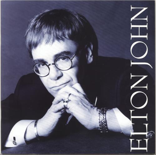 Elton John The One Tour tour programme UK JOHTRTH703828