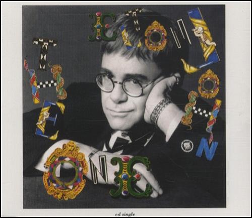 """Elton John The One CD single (CD5 / 5"""") UK JOHC5TH57479"""