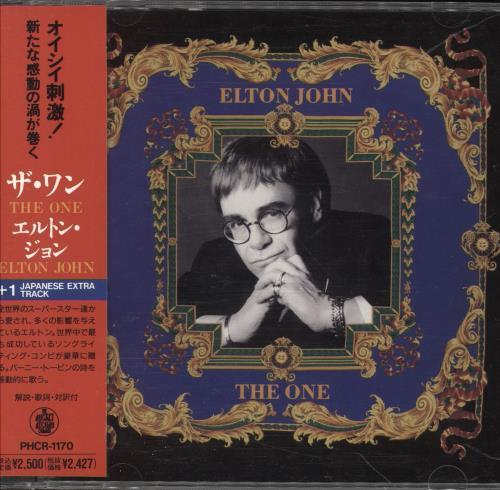 Elton John The One CD album (CDLP) Japanese JOHCDTH745725