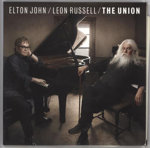 Elton John The Union 2-LP vinyl record set (Double Album) UK JOH2LTH733459
