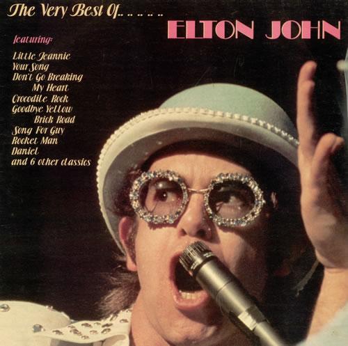 Elton John The Very Best Of Elton John Australian Vinyl Lp